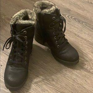 Combat Steve Madden Boots